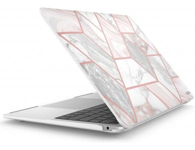 "i-Blason Halo MacBook Air 13"" (2018) Smartshell Θήκη Hard Case, Marble"