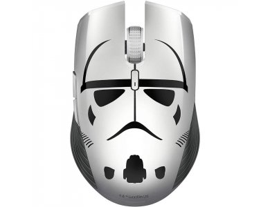 Razer Atheris Stormtrooper Edition Gaming Mouse, Ασύρματο Ποντίκι Gaming, 7200 DPI, Optical & Adaptive Frequency Technology