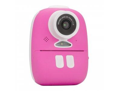 Redleaf BOB Camera with printer Instant, Φωτογραφική Μηχανή Στιγμής με Εκτυπωτή & Full HD Video, Pink