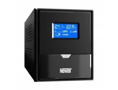 Newell Thor U1000 UPS 1000VA / 600W με LCD Οθόνη, 3x Schuko / USB port / RJ45 port