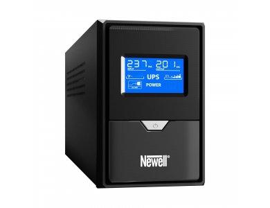 Newell Thor U650/1 UPS 650VA / 390W με LCD Οθόνη, 2x Schuko