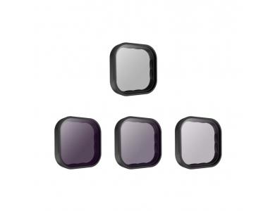 Telesin CPL + ND 8/16/32 Lens filter set for GoPro Hero 9, CPL & ND Filter set - GP-FLT-903