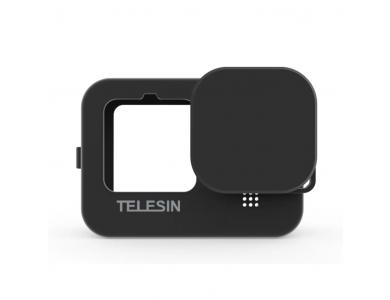 Telesin GoPro Hero 9 Smooth Θήκη Προστασίας Σιλικόνης για Action Camera, Black