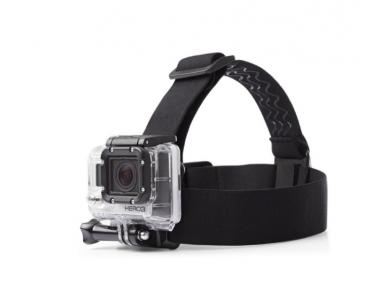 Telesin Head Strap, Ιμάντας Κεφαλής για Action Camera (GoPro, DJI Osmo, Apeman, Xiaomi κ.α.)