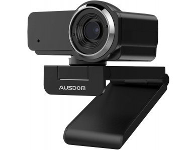 Ausdom AW635 Full HD Webcam USB 1080p @ 30fps Noise-Cancelling Microphone with Manual focus & Wide Angle