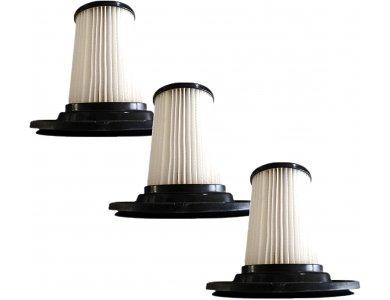 VonHaus Pack of 3 Replacement HEPA Filters, Ανταλλακτικά φίλτρα για Ηλεκτρική σκούπα χειρός / Stick VonHaus - 3000052