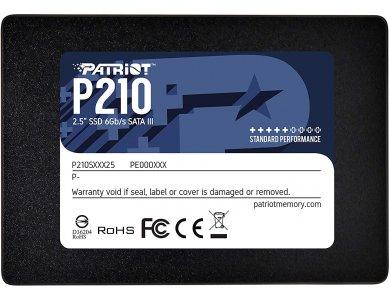 "Patriot P210 256GB SATA 3 2.5"" SSD Hard Disk USB 3.0, Black"