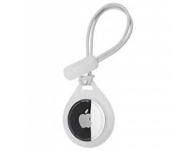 Case-Mate AirTag Loop, Holder / Θήκη για Apple AirTags, με Λουράκι, Clear