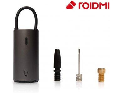 Roidmi MOJIETU Lightning-A Smart & Portable Tire Inflator, 150psi/10.3bar, 1 Click Operation, Preset & Auto-Stop