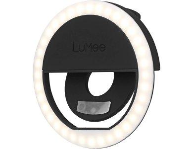 LuMee Studio LED Ring Selfie Light Βοηθητικό Φως για Smartphones, Επαναφορτιζόμενο, Black