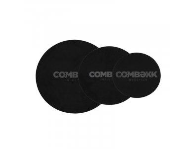 Combekk Induction Mat, Προστατευτικά Mat για Επαγωγικές Εστίες, Σετ των 3 (18cm, 24cm, 28cm), Black