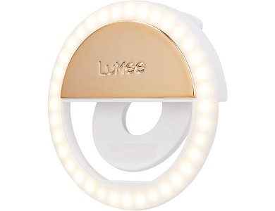 LuMee Studio LED Ring Selfie Light Βοηθητικό Φως για Smartphones, Επαναφορτιζόμενο, Gold