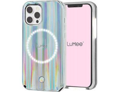 LuMee Halo by Paris Hilton iPhone 12 / 12 Pro Holographic - Light Up Selfie Case με Εμπρόσθιο & Οπίσθιο Φωτισμό