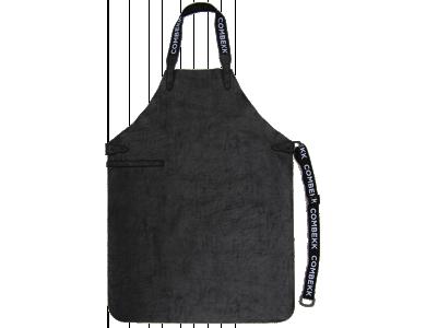 Combekk Recycled Leather Apron Black, Ποδιά Κουζίνας από Vegan Δέρμα, Μαύρη
