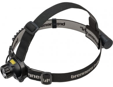 Brennenstuhl LuxPremium LED Headlamp, CREE LED Rechargeable Head Lamp 400lm Sensor & Red Light for Contactless Turn On