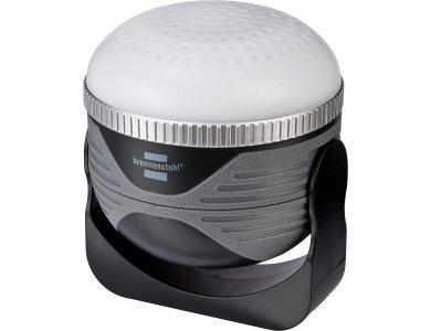 Brennenstuhl OLI 310 AB LED Outdoor Light, Φακός / Φανάρι Φωτισμού Εξωτερικού Χώρου & Camping, Επαναφορτιζόμενος + BT Ηχείο 3W