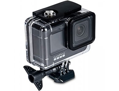Tech-Protect GoPro Hero 9 Waterproof Case / Waterproof Case for Action Camera GoPro, Transparent