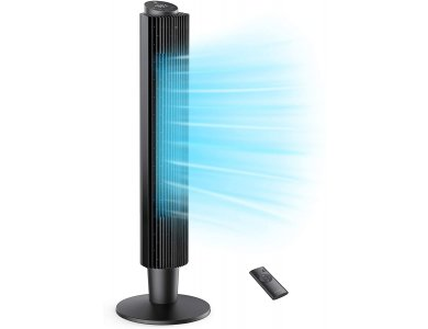 "TaoTronics TT-TF005 Ανεμιστήρας / Tower χωρίς Λεπίδες 42"" / 106cm, με LED Οθόνη, Sleep Mode, Χειριστήριο & Timer"