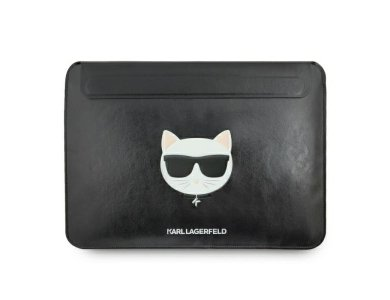 """Karl Lagerfeld Choupette Laptop Sleeve/Case 13.3"""", for Macbook/iPad Pro/DELL XPS/HP/Surface 3/Envy and more, Black"""