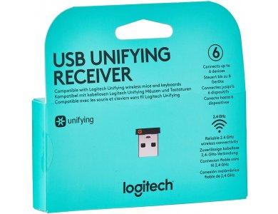 Logitech Unifying USB receiver Ασύρματο Dongle για Compatible Logitech Keyboards & Mice