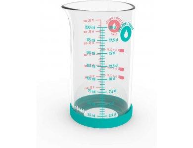 Pebbly Glass Measuring Jug 200ml, Δοσομετρητής Γυάλινος