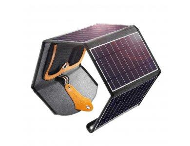 Choetech SC005 22W Foldable Solar Charger 2 Θυρών USB Ηλιακός Φορτιστής