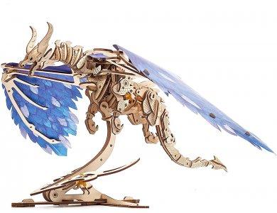 Ugears Windstorm Dragon, Δράκος Ξύλινο Μηχανικό 3D Παζλ, 320 Κομμάτια - 70151