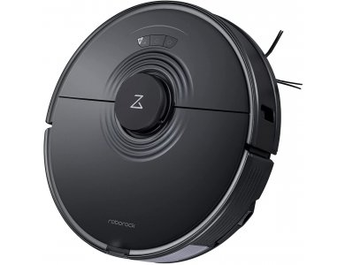 Roborock S7 - Smart Robot Vacuum / Mopping Cleaner with Sonic Mopping Function, 2500Pa & Lidar Navigation, Black