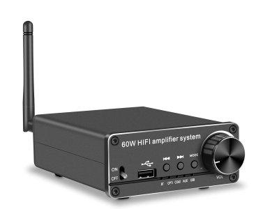 Nordic Bluetooth 5.0 Stereo Audio Amplifier 60W 192Khz DAC Digital to Analog Audio Converter, Ψηφιακός Ενισχυτής - SGM-181