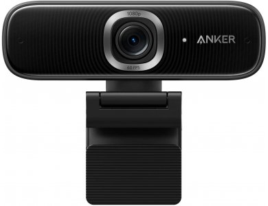 Anker PowerConf C300 Smart Full HD Webcam USB 1080p @ 60fps Noise-Cancelling Microphone, AI Autofocus, HDR, Zoom Certified