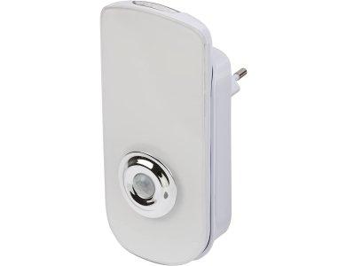 Brennenstuhl LED Sensor-Switched Security Light SSL 40 A, 50lm Φωτάκι Νυχτός με Πρίζα, Ανιχνευτή Κίνησης & Αποσπώμενο Φακό