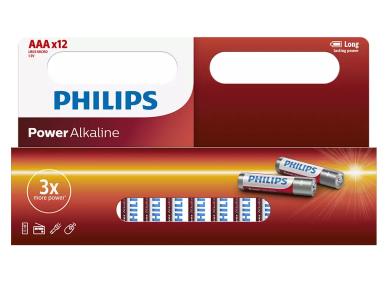 Philips AAA Power Αλκαλικές Μπαταρίες 1,5V LR03, 12 Τμχ.