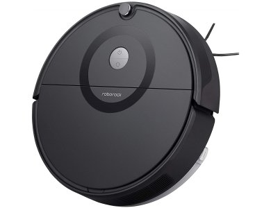 Roborock E5 Smart Robot Vacuum / Mopping Cleaner με Λειτουργία Σφουγγαρίσματος SnapMop, HyperForce 25 OpticEye Navigation, Black