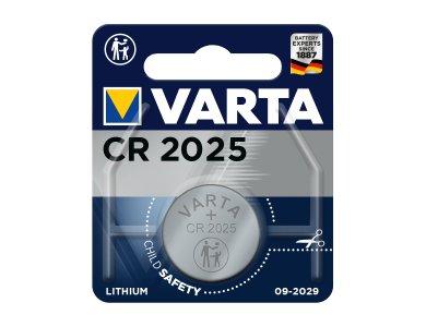VARTA CR2025 Μπαταρία Λιθίου 1τμχ