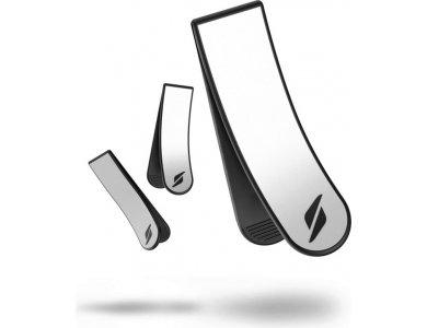Stryve Reflector Clips, Κλιπ Αντανάκλασης Φωτός για Νυχτερινή Άσκηση - M, Σετ των 3 (2 Mini & 1 Large)